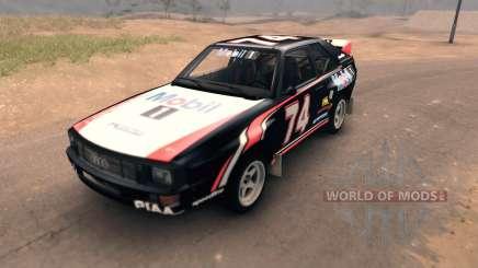 Audi Sport Quattro для Spin Tires