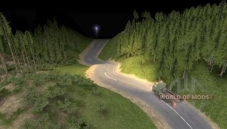 Карта Дорога в небеса для Spin Tires
