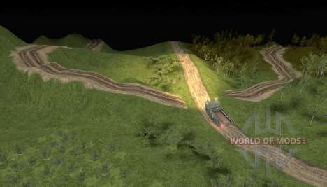 Карта Logging Trail 2 для Spin Tires