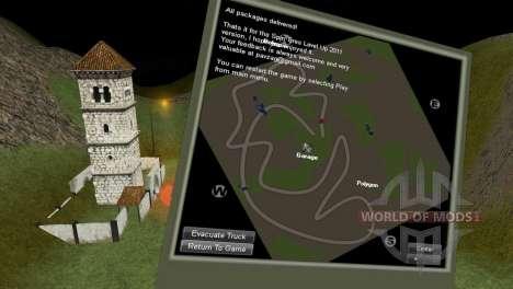 Карта StonesMine для Spin Tires