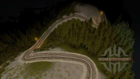Карта Forest 3 для Spin Tires