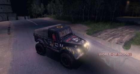 ГАЗ-69 Offroad Edition v1.1 для Spin Tires