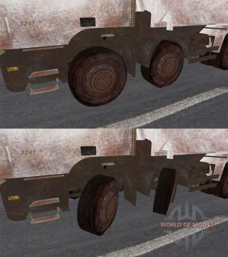 Mercedes-Benz Actros 3241 для Spin Tires