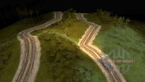 Карта Logging Trail для Spin Tires