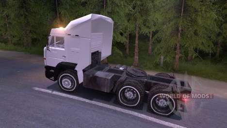 КамАЗ-6460 белый для Spin Tires
