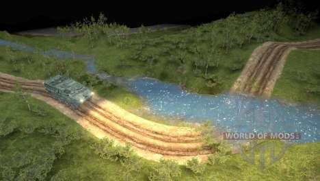 Карта Logging Trail для Spin Tires