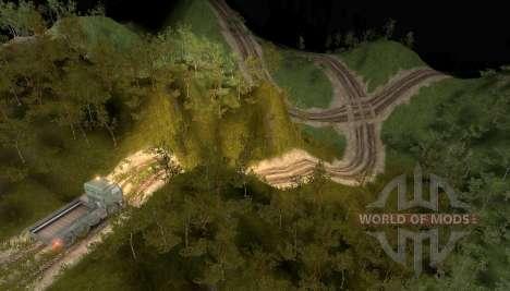 Карта Роллинг-Хиллз для Spin Tires