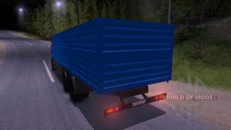 КамАЗ-65117 для Spin Tires