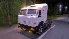 КамАЗ-6460 белый
