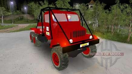 Praga V3S Truck Trial для Spin Tires