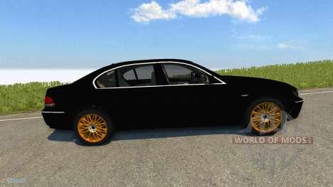 BMW 760Li E66 для BeamNG Drive