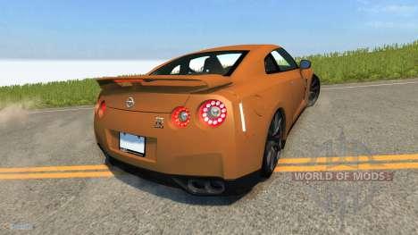 Nissan GT-R для BeamNG Drive