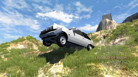 ВАЗ-2108 Лада Спутник для BeamNG Drive