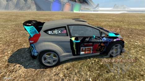 Ford Fiesta для BeamNG Drive
