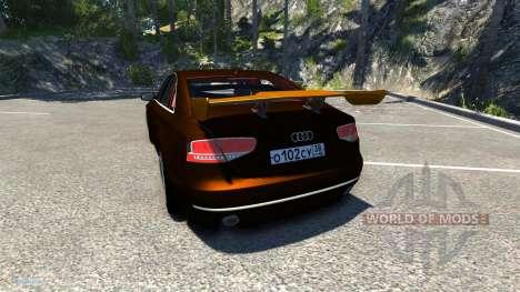 Audi A8 Sport для BeamNG Drive