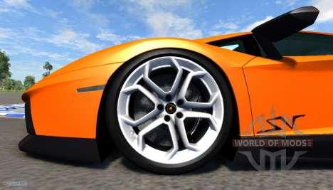 Lamborghini Aventador для BeamNG Drive