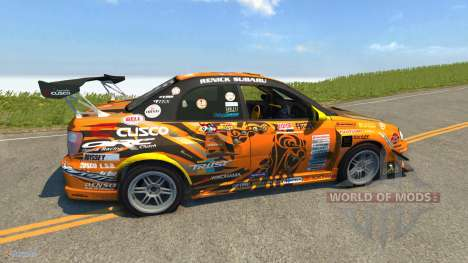 Subaru Impreza WRX для BeamNG Drive
