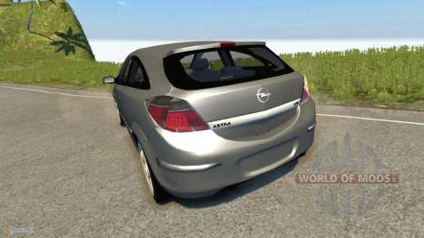 Opel Astra GTC для BeamNG Drive