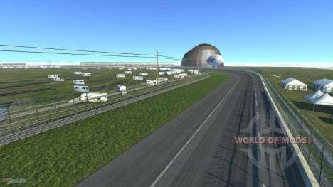 Карта Akron Motorspeedway для BeamNG Drive