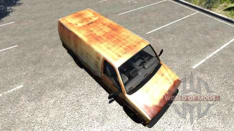 Gavril H-Series Rusty для BeamNG Drive