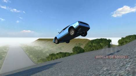 Локация Skyjump для BeamNG Drive