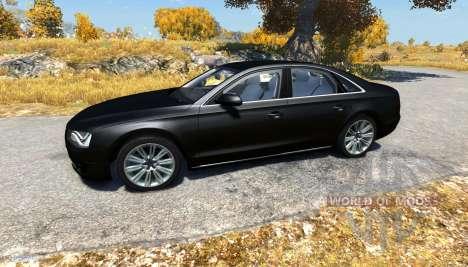 Audi A8L для BeamNG Drive