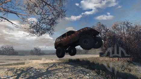 Jeep Grand Cherokee Trail для BeamNG Drive