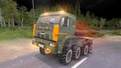 Пак грузовиков КамАЗ и КрАЗ