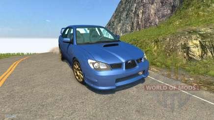 Subaru Impreza WRX STI для BeamNG Drive