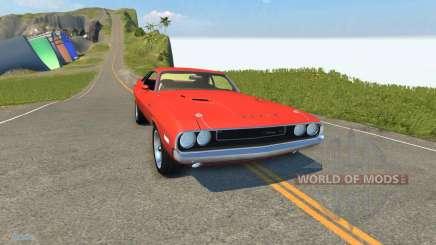 Dodge Challenger для BeamNG Drive