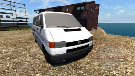 Volkswagen Transporter T4 для BeamNG Drive