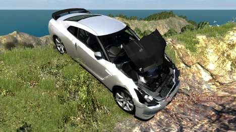 Nissan GT-R R35 Spec V для BeamNG Drive