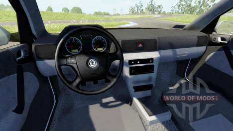 Skoda Octavia 2.0 для BeamNG Drive