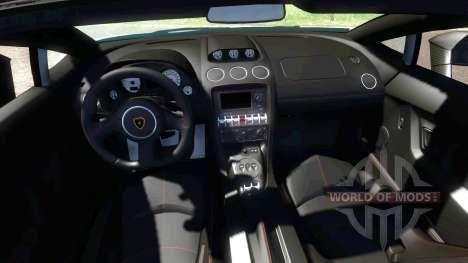 Lamborghini Gallardo LP570-4 Spyder Performante для BeamNG Drive