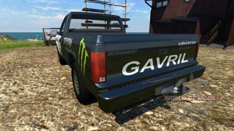 Gavril D-Series ME Edition для BeamNG Drive