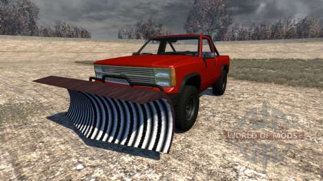 Gavril D-Series Snow Plow для BeamNG Drive