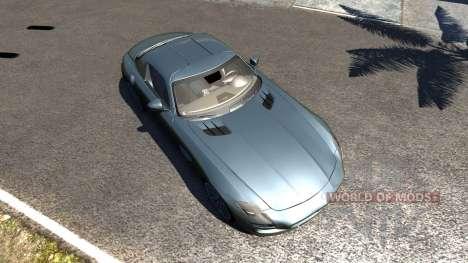 Mercedes-Benz SLS AMG для BeamNG Drive