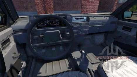 ВАЗ-2109 Samara для BeamNG Drive