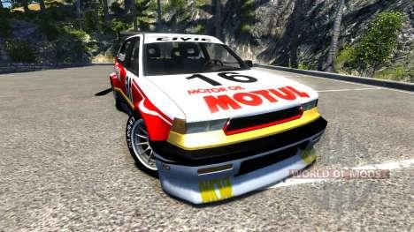 Ibishu Covet GTX для BeamNG Drive