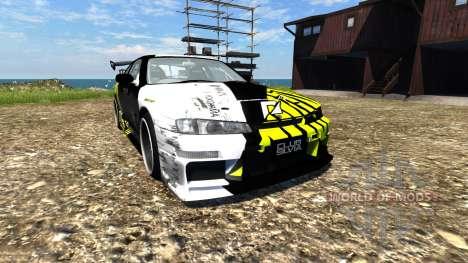 Nissan Silvia S14 для BeamNG Drive