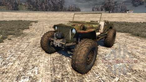 Hell Jeep для BeamNG Drive