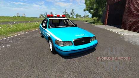Ford Crown Victoria NYPD для BeamNG Drive