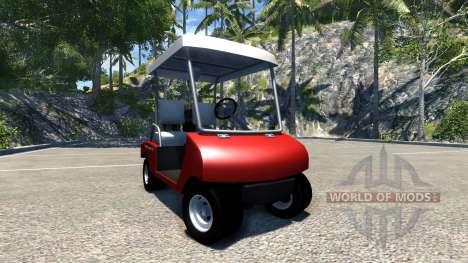 Гольф-кар для BeamNG Drive