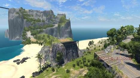 Локация -Райский остров- для BeamNG Drive