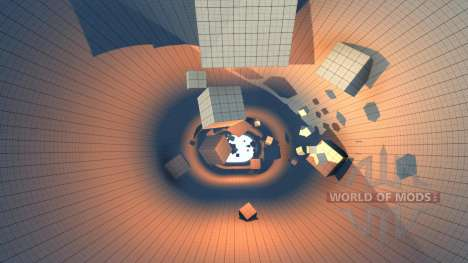 Локация The Descen для BeamNG Drive