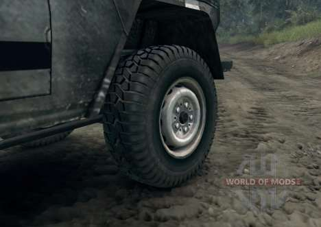 Mercedes-Benz 250GD Wolf для Spin Tires