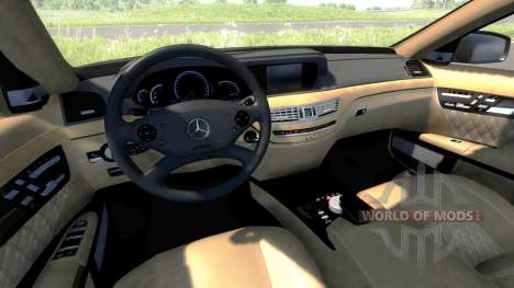 Mercedes-Benz S65 AMG 2012 для BeamNG Drive