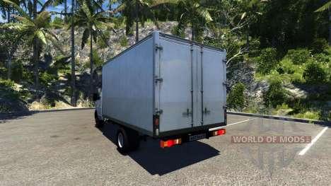 ГАЗ-3302 Газель для BeamNG Drive