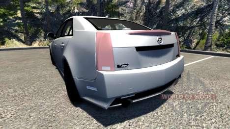 Cadillac CTS-V для BeamNG Drive
