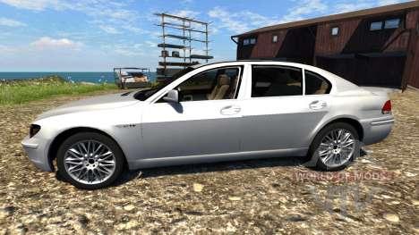 BMW 760Li (E66) v1.1 для BeamNG Drive